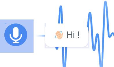 Automatically identifies spoken language